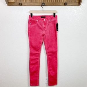 Miss Me NWT Cherry Pink Faded Skinny Jeans